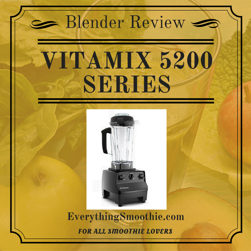 Vitamix 5200 Series Blender Review