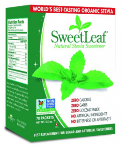 best deal of stevia at Amazon sweetleaf stevia