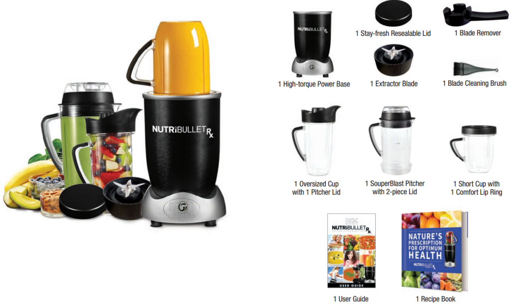 Nutribullet Rx Accessories