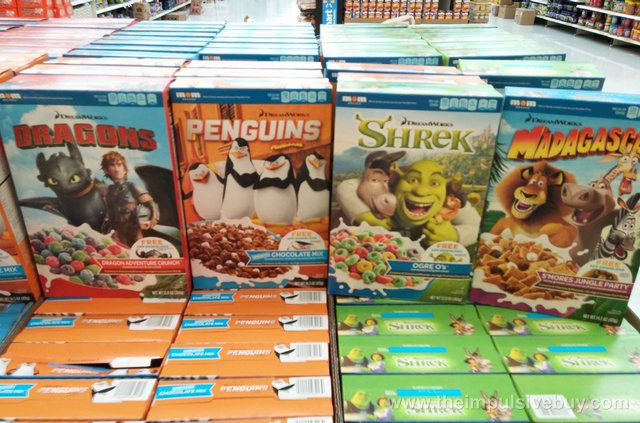Sugar = Bad Breakfast Choice